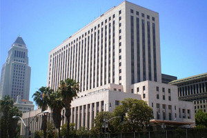 Los Angeles Courthouse with Blue Sky - Oberg Law Group APC